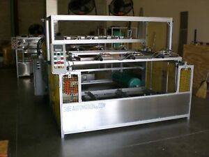 Sibe Automation Vacuum Forming Machine 48 X 60 Infrared Heaters Plc Automatic