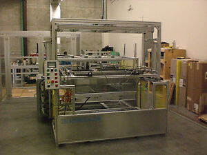 Sibe Automation Vacuum Forming Machine 36 X 48 Thermoforming Dual Heat Platen