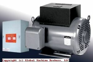 New phase a matic Static Phase Converter 5 Hp Many Models Available