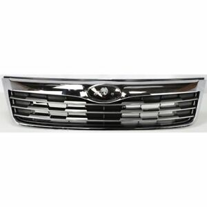 New 2009 2010 Front Grille Chrome Gray For Subaru Forester Su1200141
