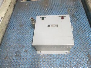 Ge Control Automatic Transfer Panel Cr160td4bb00 60a 1ph 230v Coil Used