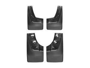 Weathertech No drill Mudflaps For Gmc Sierra 1500 2500 3500 2015 2018 Full Set
