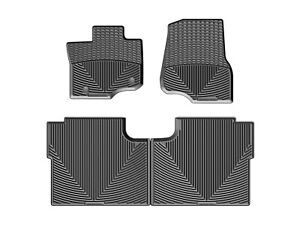Weathertech All weather Floor Mats For Ford F 150 Crew Cab 2015 2018 Black