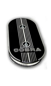 Mustang Cobra Oval Air Cleaner Finned Alloy Shelby Gt 350 500 Eleanor Ac 289 428