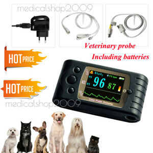 Vet Veterinary Animals Hand held Pulse Oximeter Spo2 Monitor Blood Oxygen W Usb