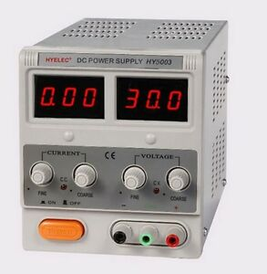 Hy 5003 Linear Dc Power Supply 0 50 Vdc 0 3 Amp