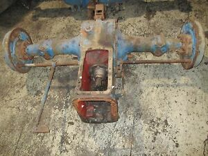 Ford 4000 4 Cylinder Tractor Rear End