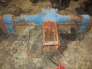 Ford 901 Early 4000 Row Crop Tractor Rear End