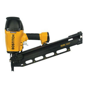Bostitch 21 Degree 3 1 2 Framing And Metal Connector Nailer F21pl2 New
