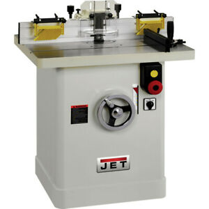 Jet 3 Hp 1 phase Industrial Shaper W Starting Pins Power Tool 708323 New