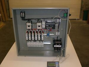 Sibe Automation Control System Vacuum Forming Heaters 6 Zones Energy Management