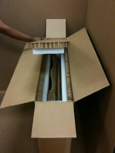 Custom Box Hexacomb Foam Liner To Ship Picture Painting Mirror