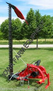 Enorossi Bf210h 7 3 pt Sickle Bar Mower ditch Bank Mower W hyd Lift Assembled