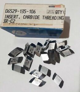 Tgi Usa Tltp 3r C2a Lathe Grooving Carbide Inserts 19 Pcs Threading Tool New