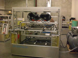 Sibe Automation Vacuum Forming Machine 24 X 48 2 Station Dual Heat Station