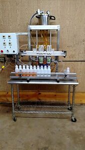 Pressure Gravity Filling Machine Pump Filler