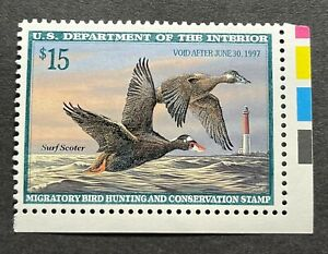 WTDstamps #RW63 1996 US Federal Duck Stamp Mint OG NH