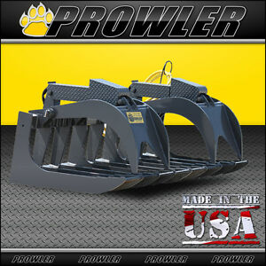 72 Super Duty Root Grapple For Skid Steer Loader And Compact Tractors 72 Inch
