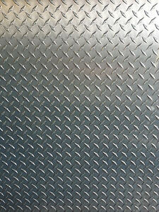 1 4 Aluminum Diamond Tread Plate 6061 T6 12 X 24