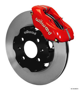 Wilwood Integra civic W fac 240mm Rtr Fdl Front Hat Kit 11 00 Red 140 8695 r
