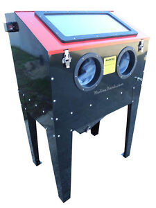 New Redline Re36kd Steel Sand Blasting Blaster Blast Cabinet Glass Bead Media