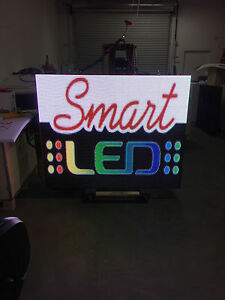 4 x6 Outdoor Two Sided Led Sign Full color Wireless 10mm Programmable P10 Promo
