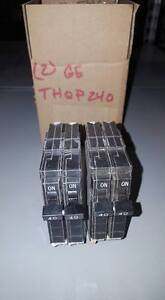 Box Of 2 General Electric Thqp240 Circuit Breakers W73