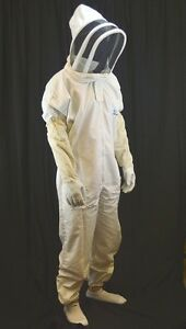 Sale Bee Suit beekeeping pest Control Suit With Veil free Gloves medium Size