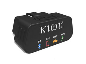Plx Kiwi 3 Obd2 Obdii Scanner Code Reader Adapter Wireless Bluetooth Ios Android