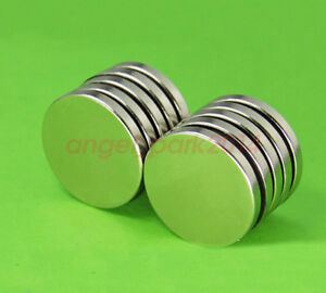 Wholesale 25mm X 3mm Disc Super Strong Rare earth Neodymium Magnets N50