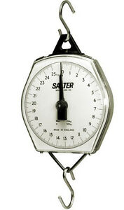 Salter Brecknell 235 6s Dial Mechanical Hanging Scale 110lb X 8 Oz 50 Kg