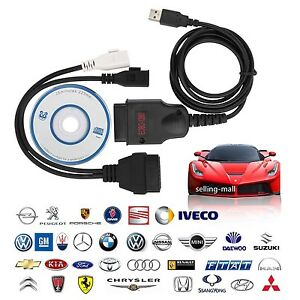 Eobd Obd2 Galletto 1260 Ecu Diagnostic Cable Programmer Remap Flasher Tunning