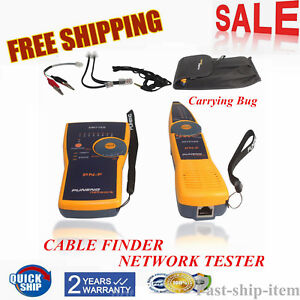 Pn f Telephone Wire Tracker Toner And Probe Network Cable Tester Rj45 Rj11