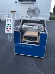 Sibe Automation Vacuum Forming Machine 24 x24 Thermoforming Infrared Heaters