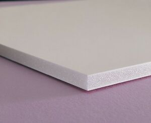 White Sintra Pvc Foam Board Plastic Sheets 1 4 6mm 24 X 48