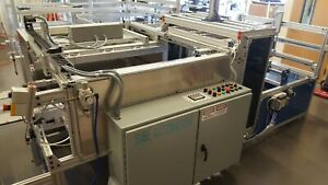 Sibe Automation Roll Fed Vacuum Forming Machine 20 x 25 Top Bottom Heaters