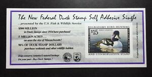 #RW65A 1998 1999 US Federal Duck Stamp Post Office FRESH
