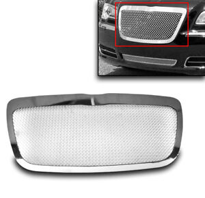 2011 2014 Chrysler 300 300c Main Chrome Upper Mesh Grille Stainless Steel Insert