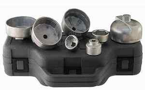Merdedes Bmw Vw Engine Oil Filter Wrench Set 7 Piece With Case New