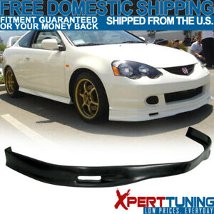 Fits 02 04 Acura Rsx Spoon Style Front Bumper Lip Spoiler Pu