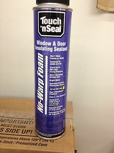 Touch N Seal No Warp Foam 1 Case Of 12 Cans
