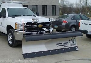 7 5 Snow Plow Snowdogg Hd75 Series Fits Chevy Commercial Snow Plow Complete