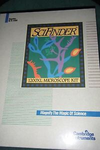 Scifinder 1200xl Microscope Kit Cambridge Instruments a 587