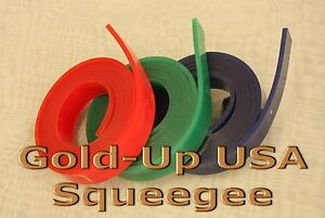 Screen Printing Squeegee Single 50mm X 9mm X 72 Roll 60 Duro