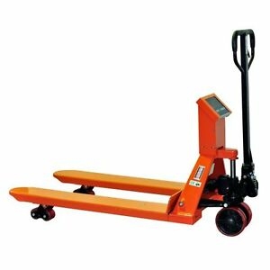 Pallet Jack Scale Indicator Hand Truck 4409lb 27 X 48 1 year Warranty Ships Free