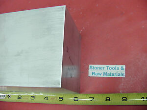4 Pieces 4 x 4 Aluminum 6061 Square Solid Bar 6 Long T6511 Flat New Mill Stock