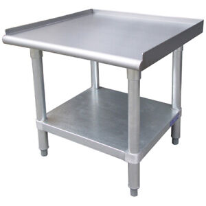 Stainless Steel Equipment Stand 30 Wide Size 12