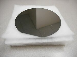 150mm 6in Test Silicon Wafers W Flat lot Of 5