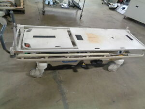 Hill Rom P8000 700lbs Transtar Gentle Ride Stretcher Crack In Base