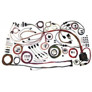 68 69 Chevy Chevelle Classic Update American Autowire Wiring Harness Kit 510158